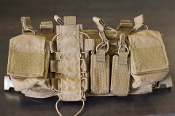 Haley Strategic D3 Disruptive Environments Chest Rig Coyote
