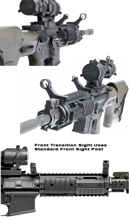 GG&G 45 degree Rapid Transition Sights