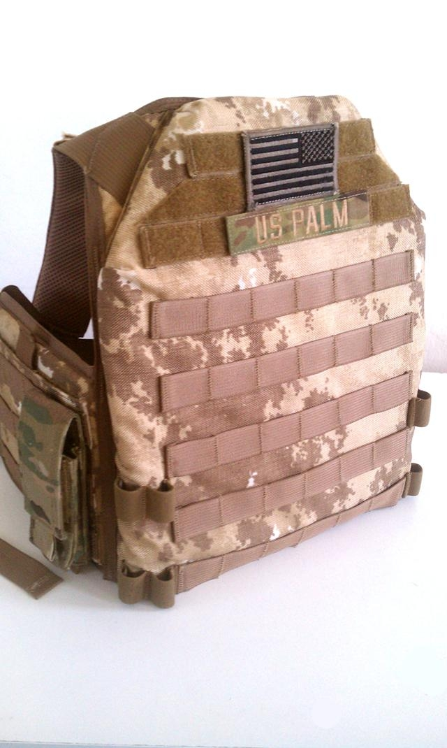 Desert Tracker Plate Carrier (DTPC) in Limited CB62 by US Palm