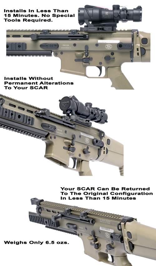 GG&G SCAR Non-Reciprocating Charging Mechanism