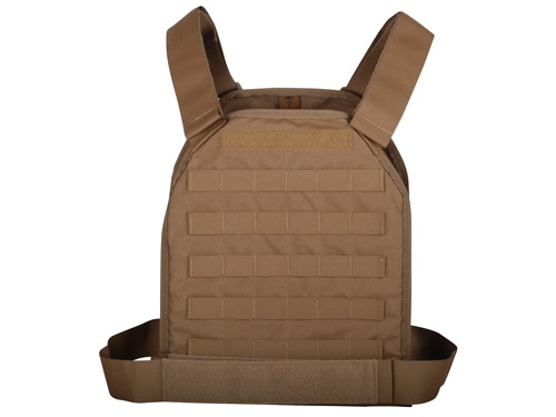 US Palm Defender Level 3A Armor and LARGE Vest - MOLLE
