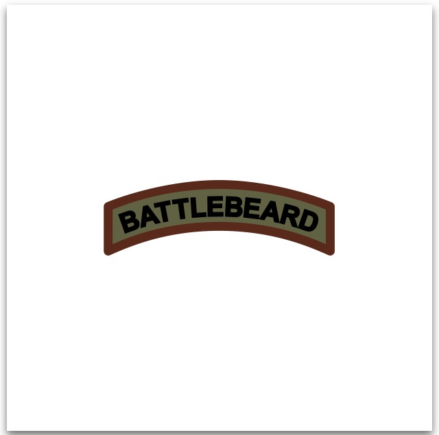 BATTLEBEARD Velcro Patch Tab