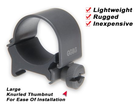 GG&G One Inch Mounting Ring for Lights