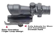 GG&G Accucam Quick Detach ACOG Mounting Base