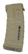 MagPul PMAG Magazine AR 15 30-Rd Mag Level Window FDE