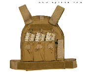 US Palm Defender Level 3A Armor and XL Vest - AR15/M4