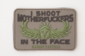 I Shoot MF'ers In The Face PVC Patch for Multicam