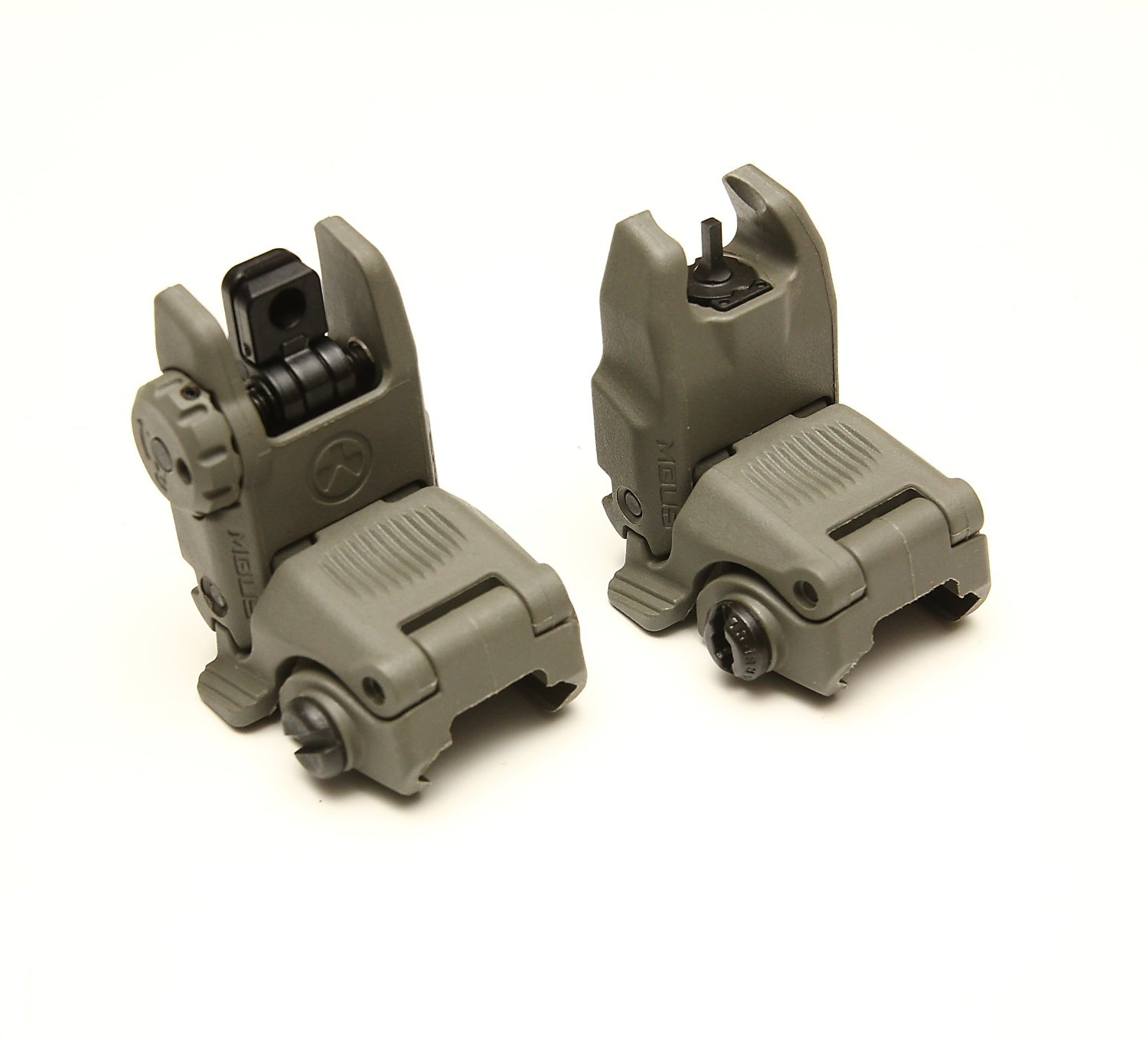 MagPul MBUS Back-Up Sights FOLIAGE GREEN GEN 2