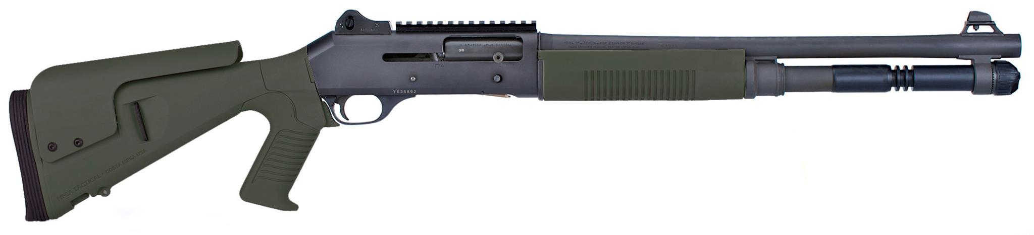 OD GREEN Urbino Stock for Benelli M4 and M1014 Shotguns