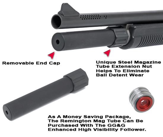 Tactical Charging Handles And Safeties For Shotguns