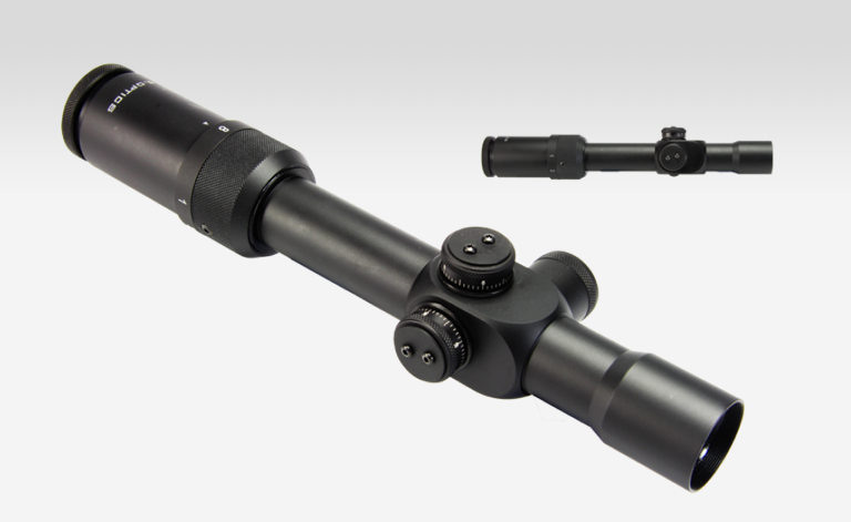U.S. Optics SR-8C Red Dot 1-8x27mm Riflescope