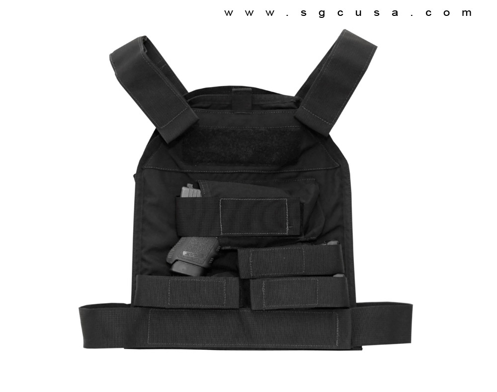 US Palm Defender Level 3A Armor and SMALL Vest -Handgun